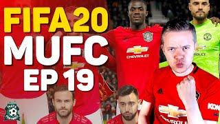 FIFA 20 MANCHESTER UNITED CAREER MODE! GOLDBRIDGE Episode 19