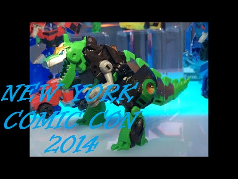 New York Comic Con 2014: Transformers Robots In Disguise/ Generations