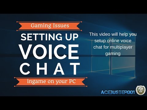 Setting up Multiplayer Voice chat for PC gaming through Steam