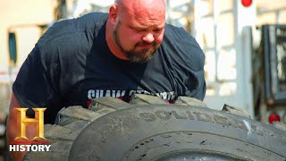 Tire Flip Challenge: The Strongest Man in History (Season 1) | History