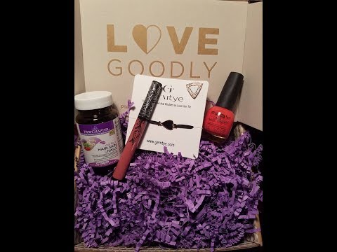 Love Goodly June/July 2017 Unboxing