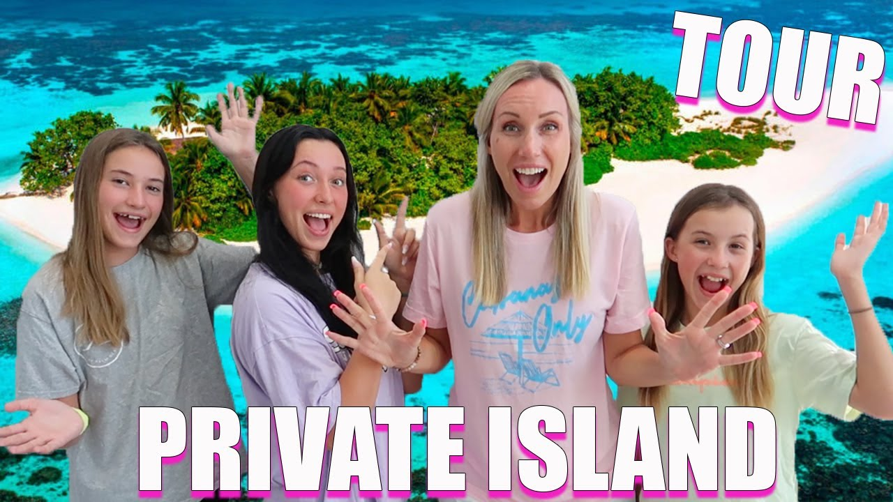 BUYING our FIRST PRIVATE ISLAND!  GRAND TOUR!
