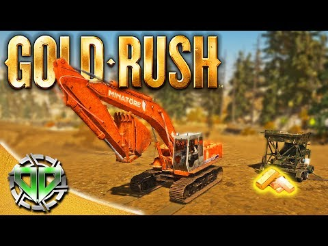 Gold Rush the Game : Excavator & Big Machines! (PC Lets Play)