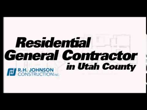 Residential General Contractor In Utah County