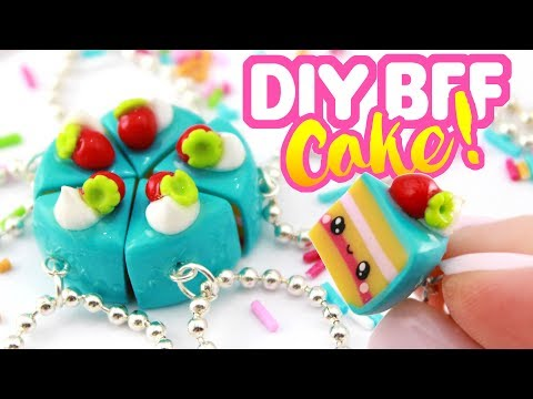 DIY CAKE BFF Charms! - Polymer Clay Crafts! | KAWAII FRIDAY