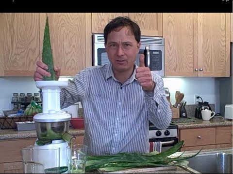 How to Juice Aloe Vera in the Omega VRT330 HD Juicer