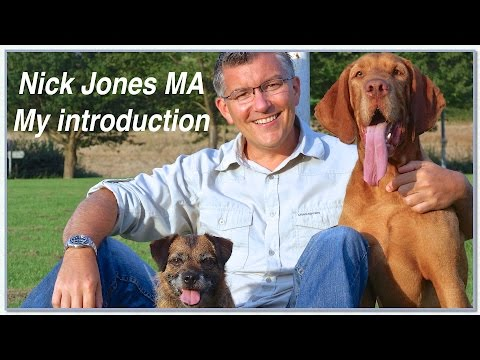 Dog Expert Witness. Dog Behaviourist. Nick Jones MA. An introduction.