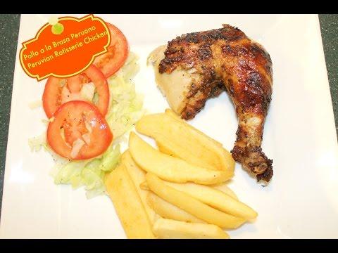 Peruvian Rotisserie Chicken (Pollo a la Brasa Peruano)