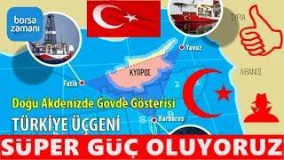 Türkiye'nin Doğu Akdeniz'deki En Büyük HAMLESİ !  Başarırsa SÜPER GÜÇ TÜRKİYE 🇹🇷👏