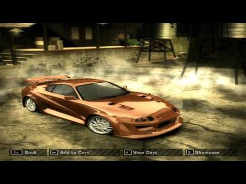 Need For Speed Most Wanted (2005) - Challenge Series Cars Tutorial (HD)