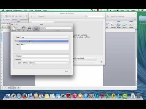 Mac advanced tab