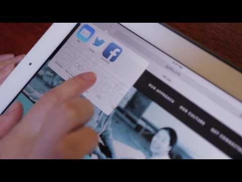 How to make a DP Life home screen button on your ipad.