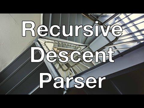 Let's write a recursive-descent parser in C (Part 1)