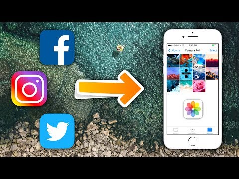 Save Videos from Facebook, Instagram &Twitter to iPhone Camera Roll (NO JAILBREAK)