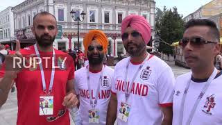 Russia: Nazi-saluting England fans 'an embarrassment' – Three Lions supporters