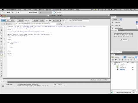 Create a Horizontal Menu Bar w/ CSS & HTML- Part 1