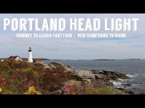 Portland Head Light | Journey to Acadia Part Four | Wandering Around In Wonder