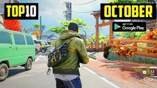 TOP 10 NEW GAMES FOR ANDROID IN OCTOBER 2020 | HIGH GRAPHICS (ONLINE/OFFLINE)