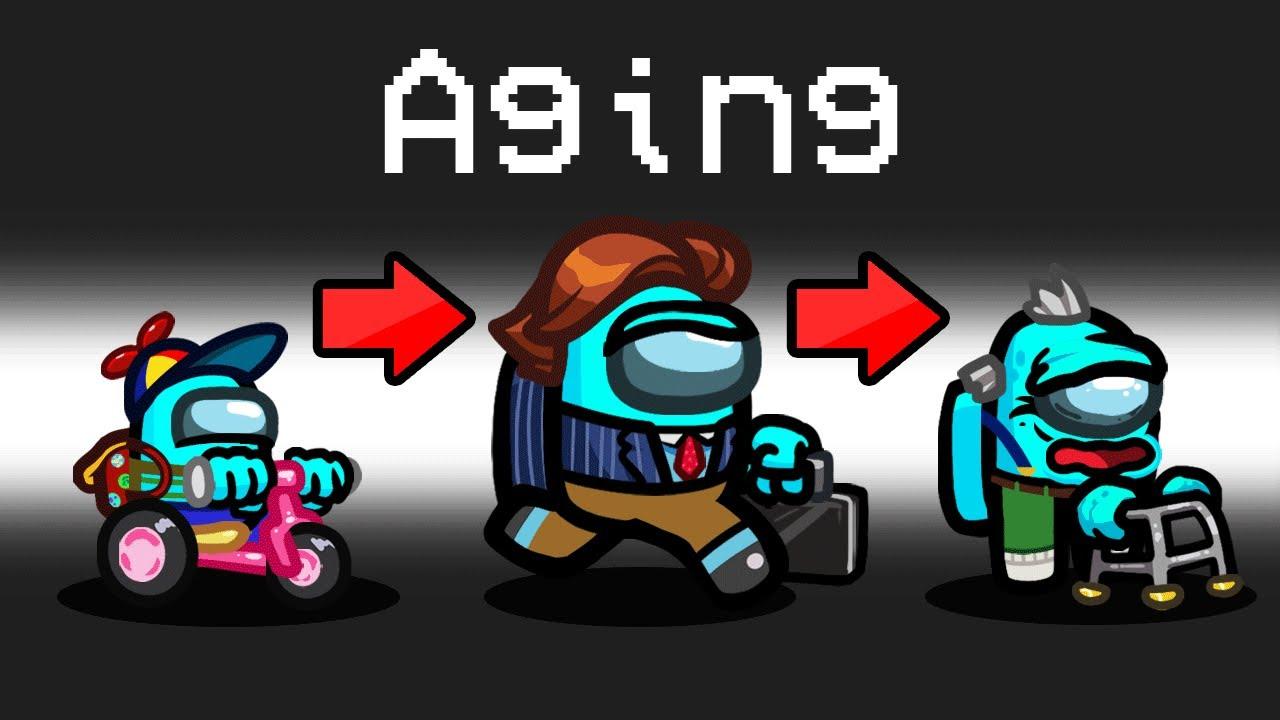 GROWING UP Mod in Among Us