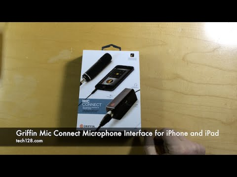 Griffin Mic Connect Microphone Interface for iPhone and iPad