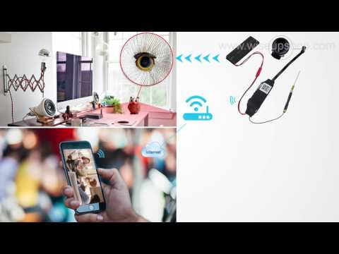 WISEUP Network Configuration Instruction of HD Mini WIFI Spy Camera Module (Model Number: WIFI21)