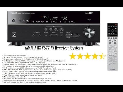 YAMAHA RX-V677 AV Receiver System