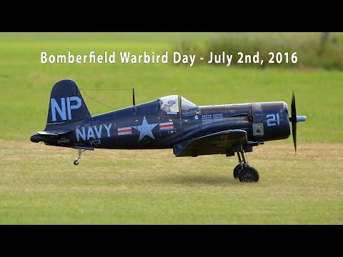 Bomberfield USA - Warbird Day - July 2, 2016