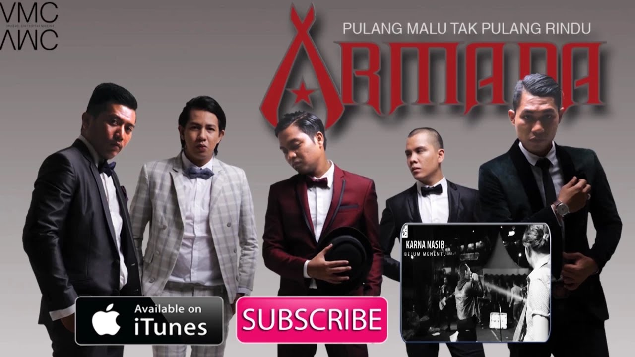 Download Armada - Pulang Malu Tak Pulang Rindu MP3 Gratis