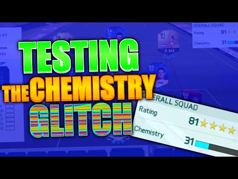 FIFA 16 TESTING THE CHEMISTRY GLITCH! (FIFA 16 IS BROKEN!!)