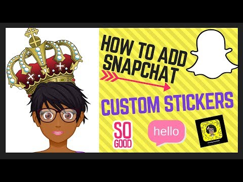 How to add custom stickers in Snapchat