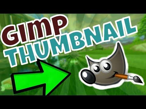 HOW TO MAKE EASY THUMBNAILS USING GIMP (FORTNITE)
