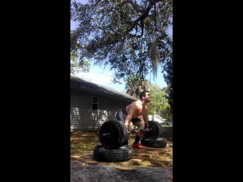 125(275) snatch from low blocks