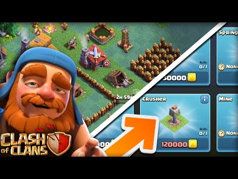 BUYING NEW BUILDER HALL 3 DEFENSES  |