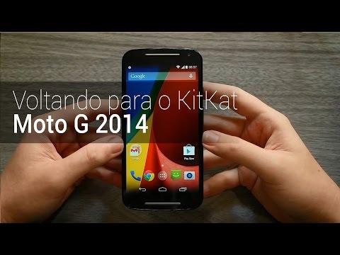 Como voltar para o Android KitKat no Moto G 2014 | TudoCelular.com