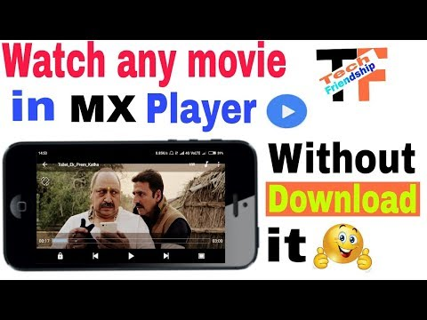 How to watch movies online | in mx player | Watch movies in MX player without download
