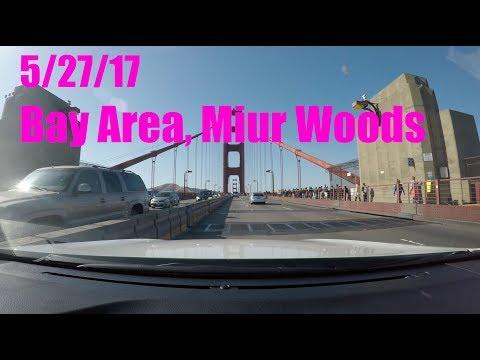 San Jose, San Francisco, Muir Woods (5/27/17)