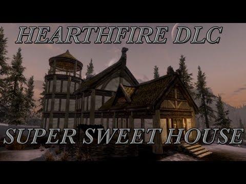 Skyrim DLC: Hearthfire - Super Sweet House