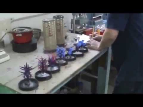 Wax tree casting jewelry manufacturing gold silver platinum service rubber mold machine production h