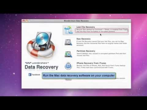 How to Recover Deleted Files from Emptied Trash on Mac OS X - Mac Data Recovery