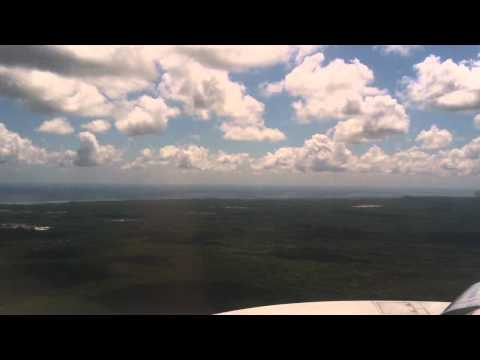 American Airlines 767-300 Landing, Punta Cana, Dominican Republic