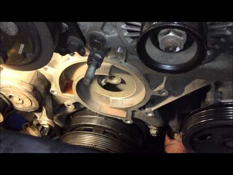Jeep Liberty Water Pump Replacement 3.7 V6