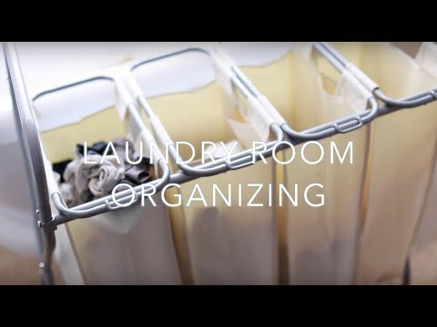 Laundry Room Organizing Idea & Tips