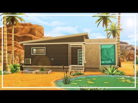 SIMS 4 BASE GAME STARTER HOME 17K $ 💜 Speed Build