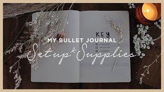 My Bullet Journal Set Up & Supplies