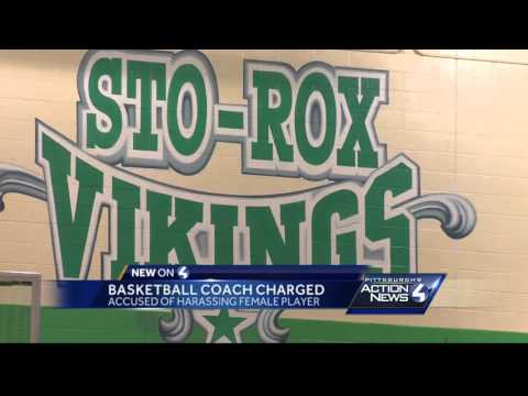 Suspended Sto-Rox coach faces harassment charges