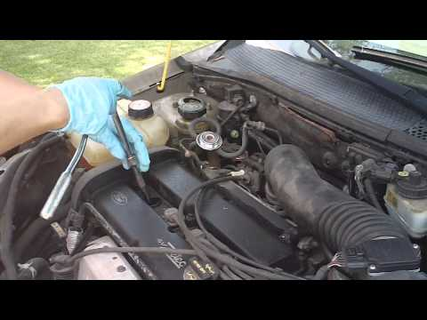 03 ford focus sparkplugs replaced