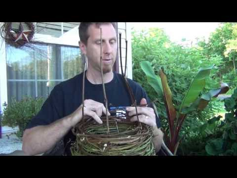 How to Make a Grapevine Survival Basket
