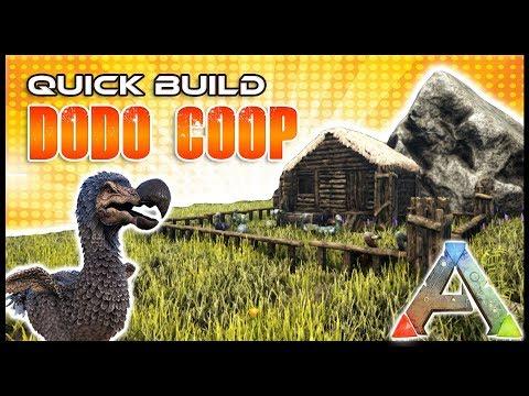 Quick Build | Dodo Coop | Ark Survival