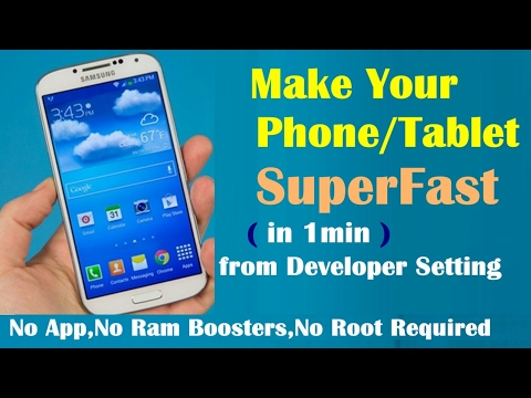 How to make Faster Slow Android Phone in 1 Minute