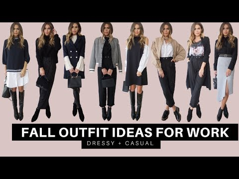 8 Outfit Ideas For Work   Fall 2017